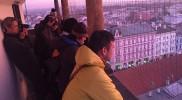 塔の上から