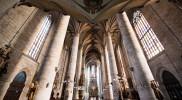 天井が高いほど神に近づくとされたゴシック建築