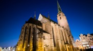聖バルトロミェイ大聖堂もライトアップ