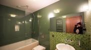 MOSAICの浴室がかわいい