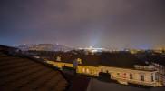 テラスから眺めた夜の風景