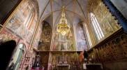 聖ヴァーツラフ礼拝堂、ここに聖遺物がっ!