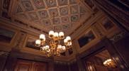大統領控え室の天井