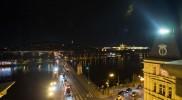 屋上から望むプラハ城