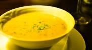 ポテトのスープをチョイス