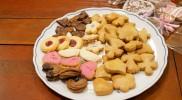 試食用のクッキー