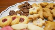 左上の保存用クッキーは硬い
