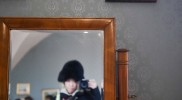 劣化した鏡から時間の流れを感じる