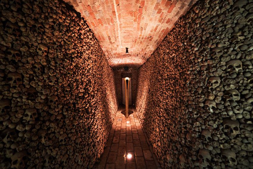 ヨーロッパで2番目に大きな納骨堂