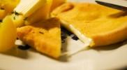 アツアツのチーズがとろり