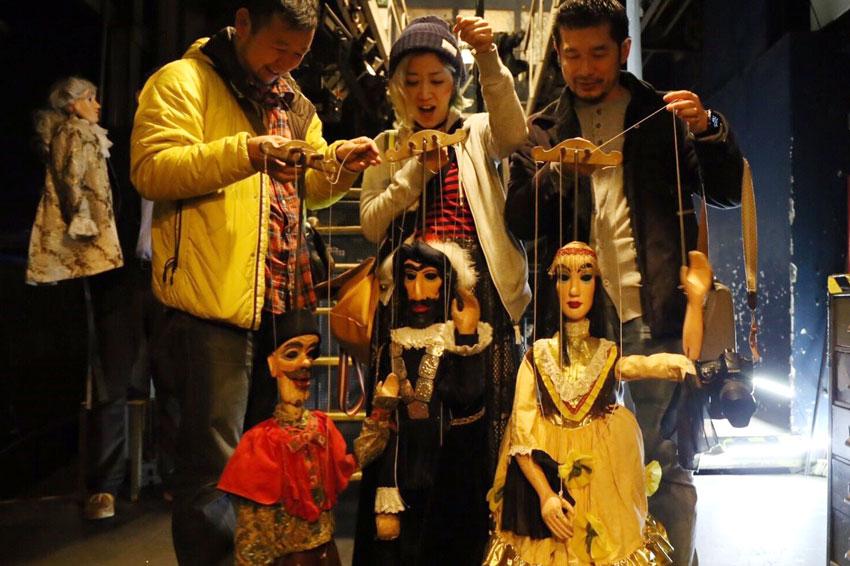 無形文化遺産となったチェコの伝統的な人形劇。わたしが持っているものが「ドン・ジョヴァンニ」