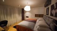 寝室はこんな感じ。ツインにも出来る
