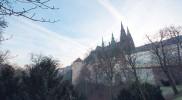 よく見るプラハ城を逆サイドから