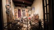 2階には鎧や拷問器具の展示も