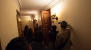 大統領控え室を特別に見学