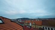 テラスから眺めた朝の風景。毎日眺められたらいいのに。