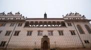 ここからリトミシュル城の中庭へ
