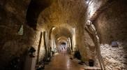 リトミシュル城地下の彫刻ギャラリー