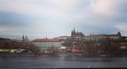 名残惜しいプラハ城を焼き付ける