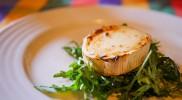ゴートチーズのサラダ