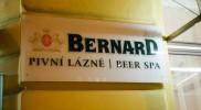 ビールのブランドはベルナードというものらしい