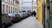 プラハの道