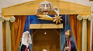 世界のベツレヘムが飾ってあった。これはマリオネット