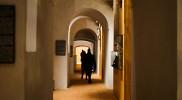 2階の回廊も自由に歩ける