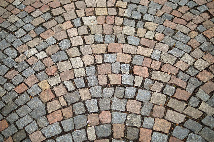 公演の石畳