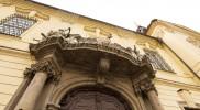 ハプスブルク家への忠誠を表す鷲のレリーフ