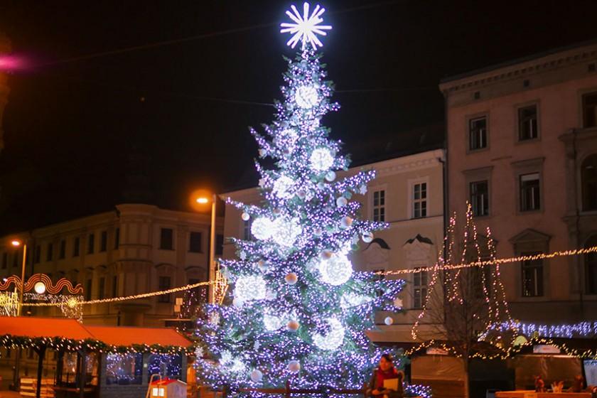 チェコのクリスマスを焼き付ける