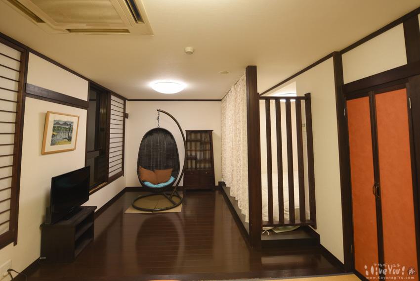 今回コヤナギが宿泊した部屋のリビング部分