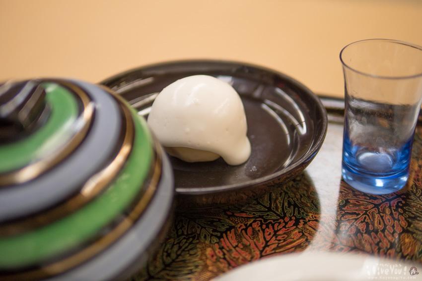 ジャガイモの創作料理「奥会津の雪山」