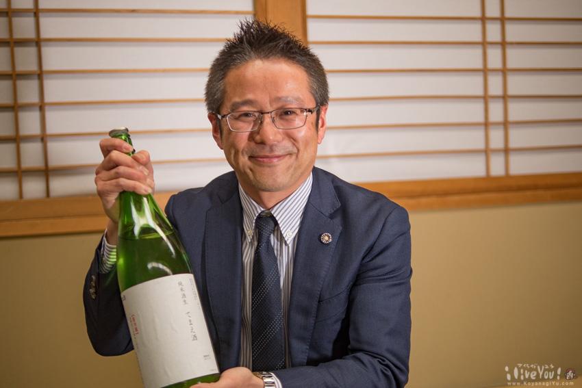 もちろん日本酒の美味しさも副町長お墨付き